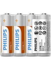 baterie LONG LIFE 4ks (R6L4F/10, AA, 1,5V)