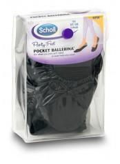 Scholl Pocket Ballerina - černé baleríny