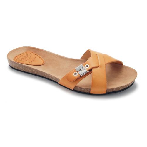 Scholl BONETE světle hnědé módní pantofle