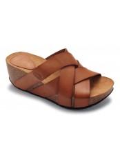 Scholl ERULA - hnědé módní sandály