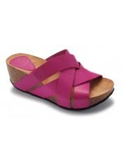 Scholl ERULA - růžové módní sandály
