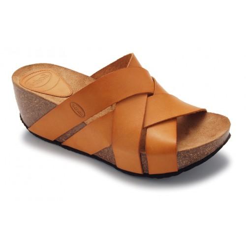 Dámská obuv Scholl ERULA - světle hnědé zdravotní sandály