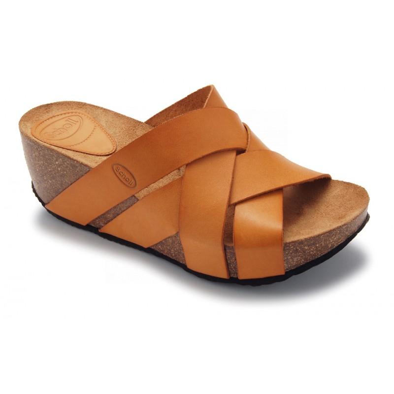 d815d004a5e0 Scholl ERULA - světle hnědé módní sandály