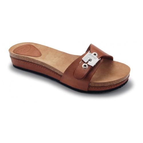 Scholl MARCANA hnědé módní pantofle