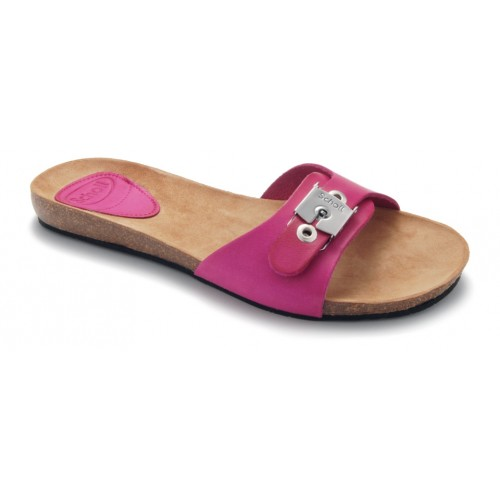 Scholl NEW BAHAMA 1.2 - růžové pantofle EU 36