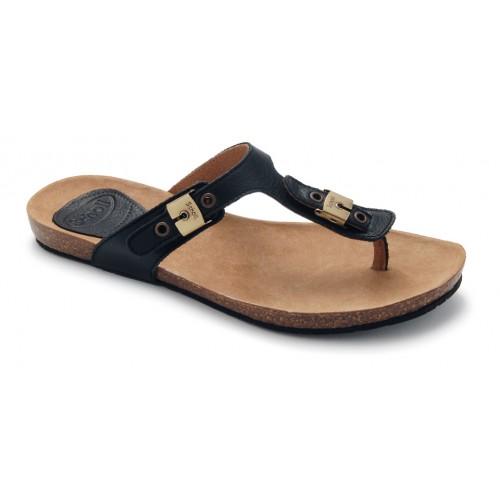Dámská obuv Scholl NEW BIMINI 1.2 - černé zdravotní pantofle