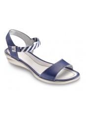 Scholl ELAENIA - modré sandály