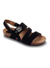 Scholl ISIDRO tmavě hnědé sandály