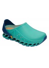 Scholl CLOG EVOFLEX zelená pracovní obuv