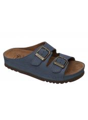 AIR BAG - modré zdravotní pantofle