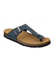 Scholl EVIS 2.0 modré zdravotní pantofle