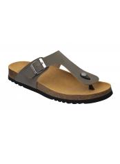 Scholl EVIS 2.0 šedé zdravotní pantofle