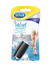 Velvet Smooth náhradní válečky (1 ks jemný + 1 ks extra hrubý)