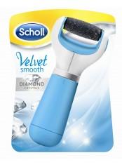 Scholl Velvet Smooth Diamond Crystals - strojek na odstranění ztvrdlé kůže z chodidla