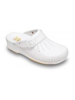 Scholl CLOG ADAPTA bílá pracovní obuv