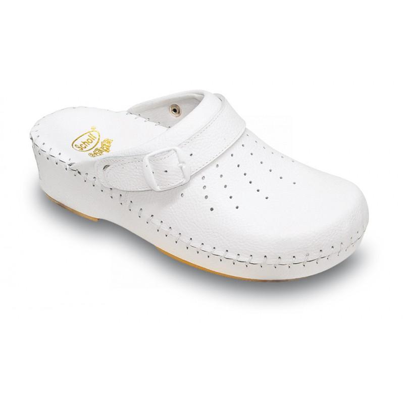 Scholl CLOG ADAPTA bílá pracovní obuv 2a08748c93