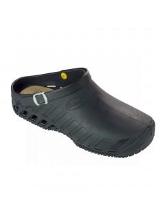 Scholl CLOG EVO černá pracovní obuv