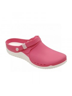 Scholl CLOG PROGRESS růžová pracovní obuv