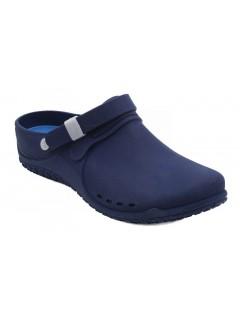 Scholl CLOG PROGRESS tmavě modrá pracovní obuv (nový model)