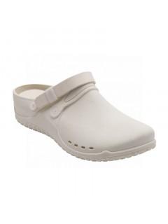 Scholl CLOG PROGRESS bílá pracovní obuv