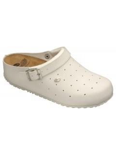 Scholl CLOG SOPHY bílá pracovní obuv