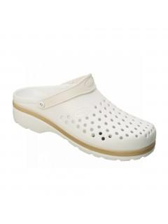 Scholl LIGHT COMFORT bílá pracovní obuv
