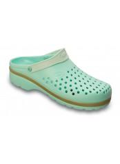 Scholl LIGHT COMFORT modrozelená pracovní obuv