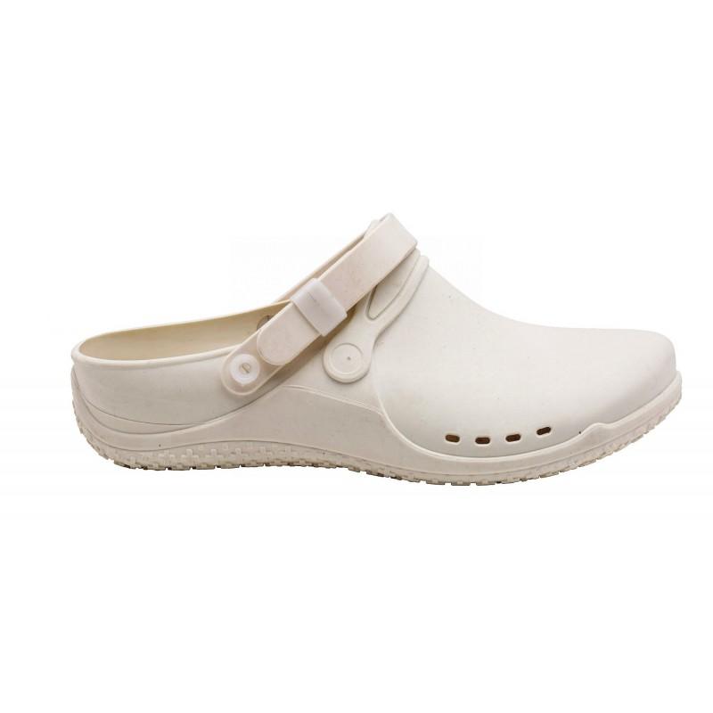 Scholl CLOG PROGRESS bílá pracovní obuv 9f24cbf0c4