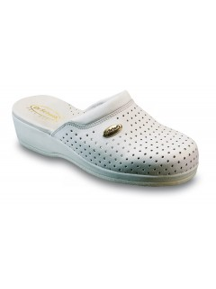 Scholl CLOG BACK GUARD - bílá pracovní obuv