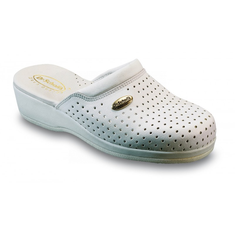 Scholl CLOG BACK GUARD - bílá pracovní obuv 09e0ac24b5
