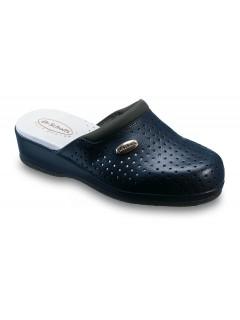 Scholl CLOG BACK GUARD - modrá pracovní obuv
