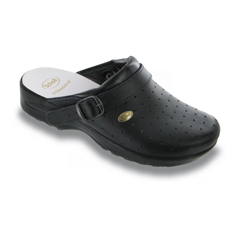 CLOG RACY - černá. Pracovní obuv Scholl ... 67ae2123fe
