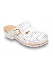 CLOG SUPERCOMFORT - bílá zdravotní obuv