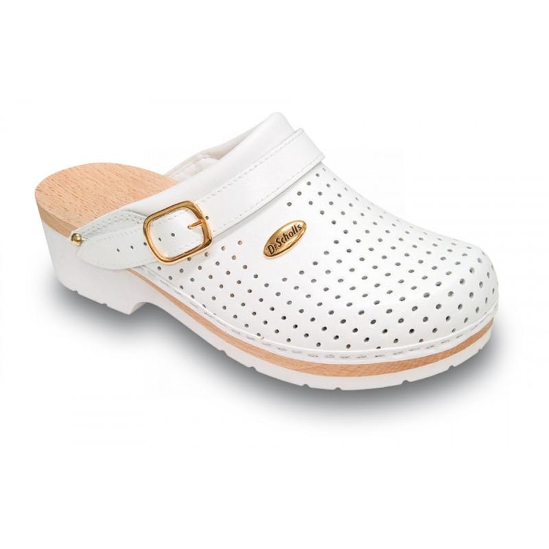 CLOG SUPERCOMFORT - bílá zdravotní obuv 35035b46a5