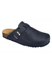 Scholl AMIATA MAN tmavě modrá domácí zdravotní obuv