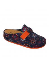 Scholl LARETH modrá domácí obuv