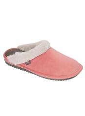 Scholl BRIENNE FLUFFY růžová domácí zdravotní obuv