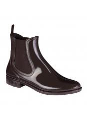 Scholl TATY tmavě hnědá kotníčková obuv