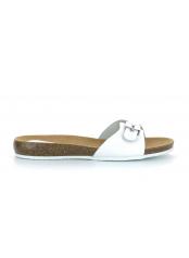Scholl BAHAMAIS - bílé zdravotní pantofle