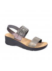 Scholl CRISTINA cínové zdravotní sandály