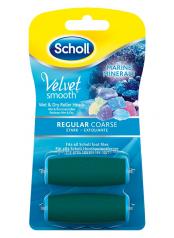 Velvet Smooth - náhradní rotační hlavice středně drsná s mořskými minerály (2ks)