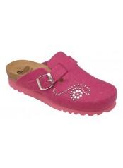 Scholl DARIKA růžová domácí obuv