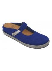 Scholl IKIKE modrá / béžová domácí obuv