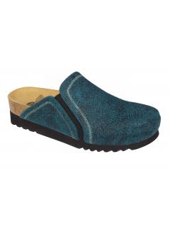Scholl KELSIE modrá domácí obuv