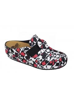 Scholl LARETH pestrobarevná domácí zdravotní obuv