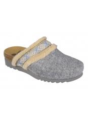 Scholl MAYA šedá domácí obuv