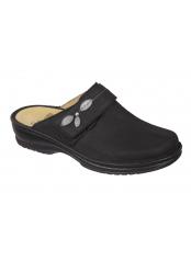 Scholl MIRELLA černá domácí obuv
