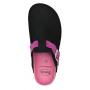 Scholl AMIATA BRAID černá/růžová domácí obuv