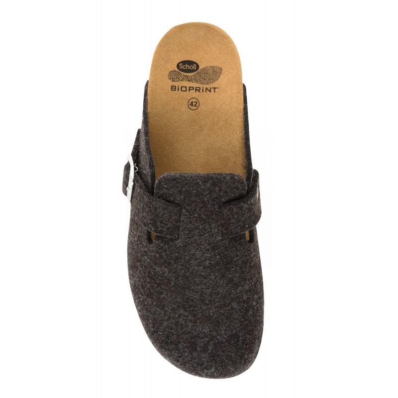 a52be470565d Scholl AMIATA MAN tmavě hnědá domácí zdravotní obuv