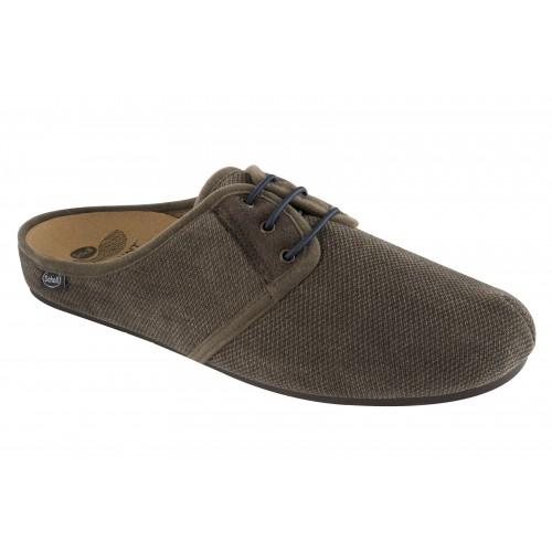 Scholl ARONIA zelená domácí obuv